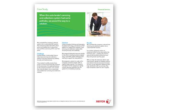 santander consumer usa case study
