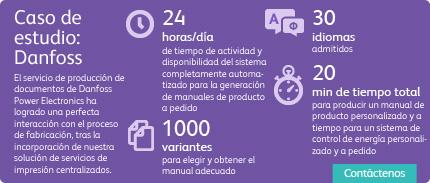 Impresión centralizada - Cifras de presentación